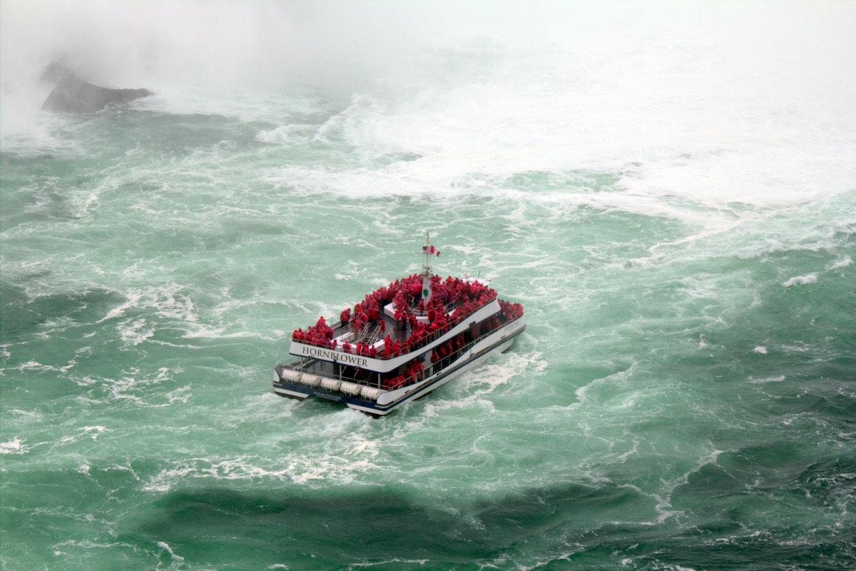 Boat At The Niagara Falls