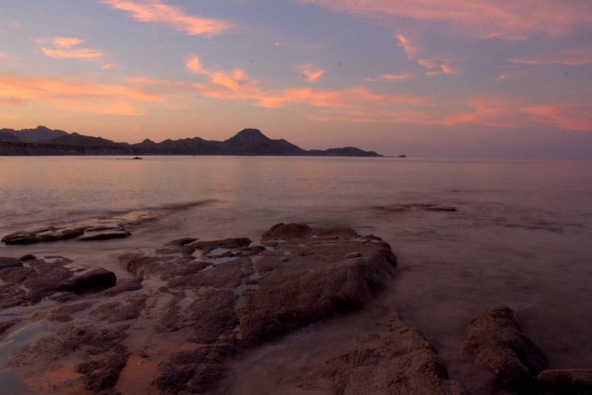 Sunset At Cabo Pulmo