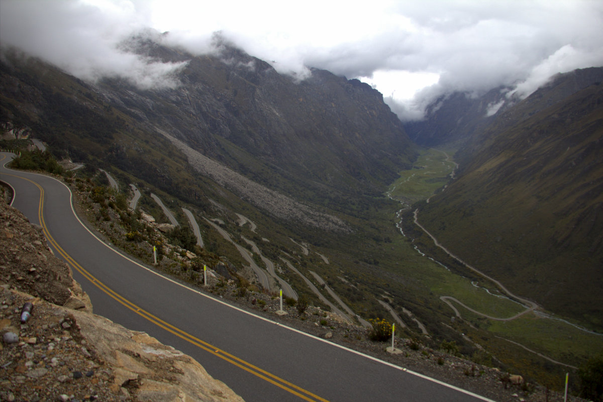 Hairpins Up To Punta Olimpica