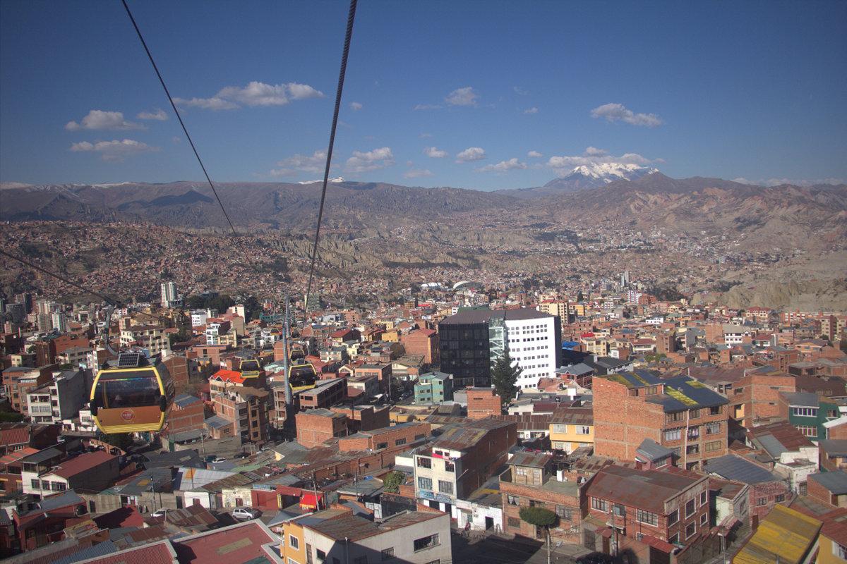 Gondolas, La Paz